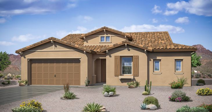 Elevation:Woodside Homes - Sudeley - Lot 76