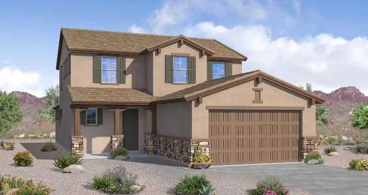 Elevation:Woodside Homes - Wren - Lot 141