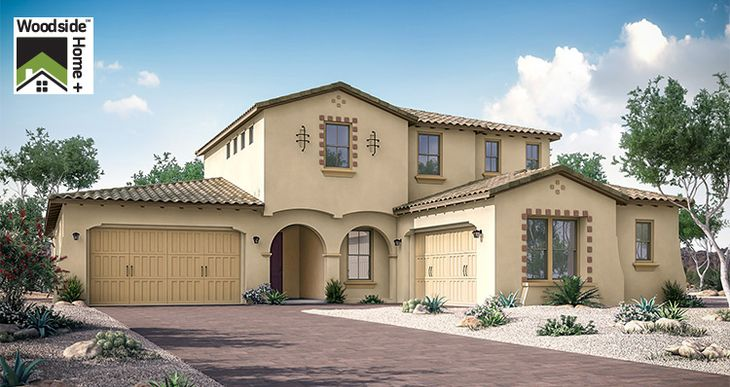 Elevation:Woodside Homes - Grandeur