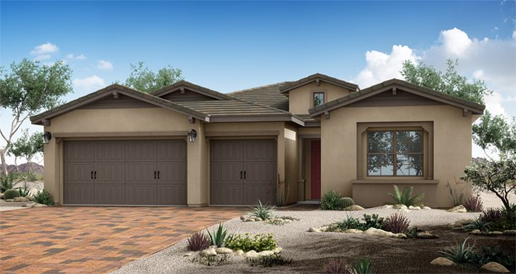 Elevation:Woodside Homes - Aura