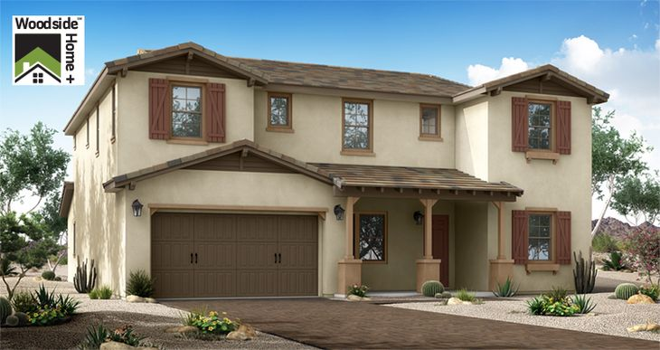 Elevation:Woodside Homes - Balance