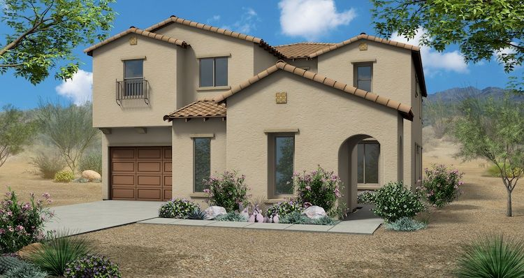 New Homes Building In Mesa Arizona