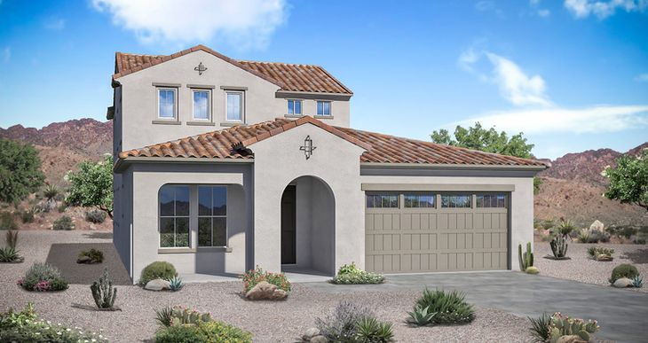 Elevation:Woodside Homes - Madera