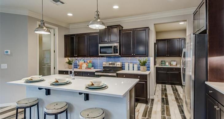 Elevation:Woodside Homes - Liberty