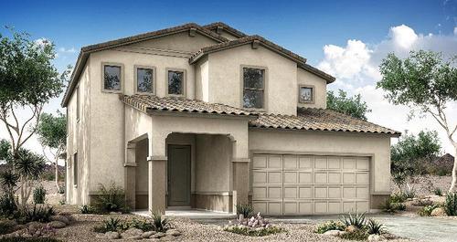 Landmark at Heritage Crossing by Woodside Homes in Phoenix-Mesa Arizona
