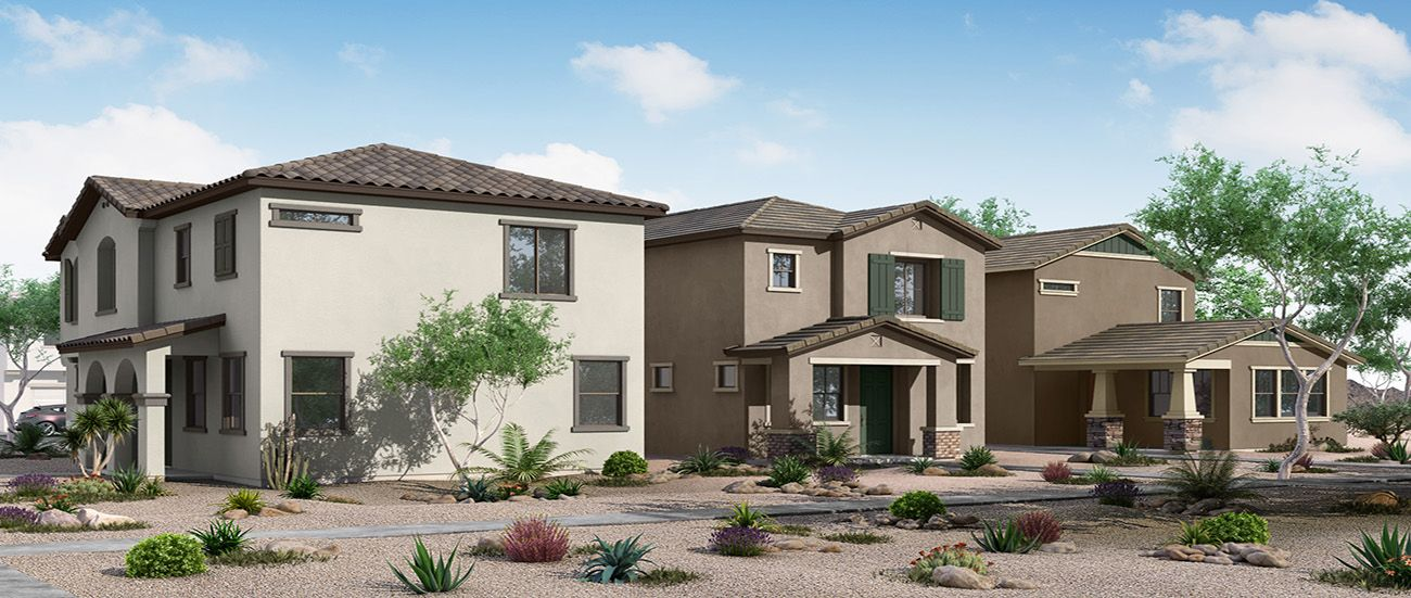 'Villas at Cypress Ridge' by Woodside Homes - Phoenix in Phoenix-Mesa