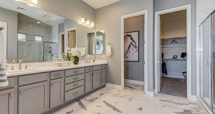 Bathroom featured in the Serenity By Woodside Homes in Phoenix-Mesa, AZ