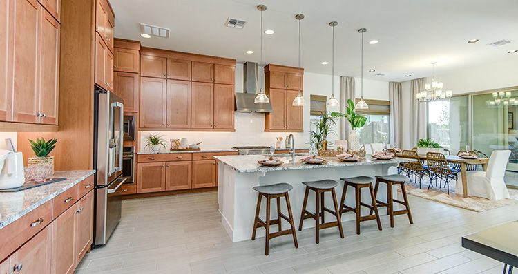 Kitchen featured in the Harmony By Woodside Homes in Phoenix-Mesa, AZ