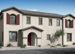 Townlet (Loop) - Villas at Cypress Ridge: Phoenix, Arizona - Woodside Homes