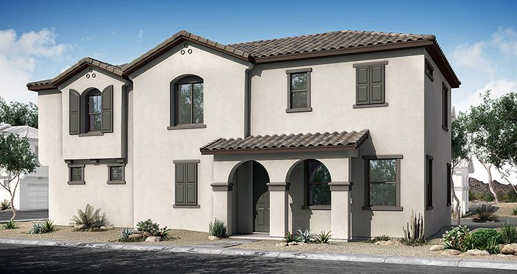 Exterior featured in the Haven By Woodside Homes in Phoenix-Mesa, AZ