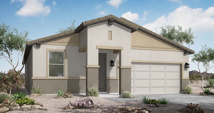 Exterior featured in the Yellowstone By Woodside Homes in Phoenix-Mesa, AZ