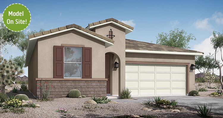Exterior featured in the Rushmore By Woodside Homes in Phoenix-Mesa, AZ