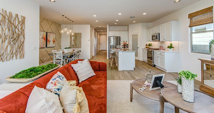 Living Area featured in the Rushmore By Woodside Homes in Phoenix-Mesa, AZ