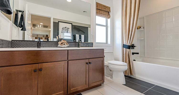 Bathroom featured in the Yosemite By Woodside Homes in Phoenix-Mesa, AZ
