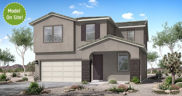 Exterior featured in the Canyon By Woodside Homes in Phoenix-Mesa, AZ