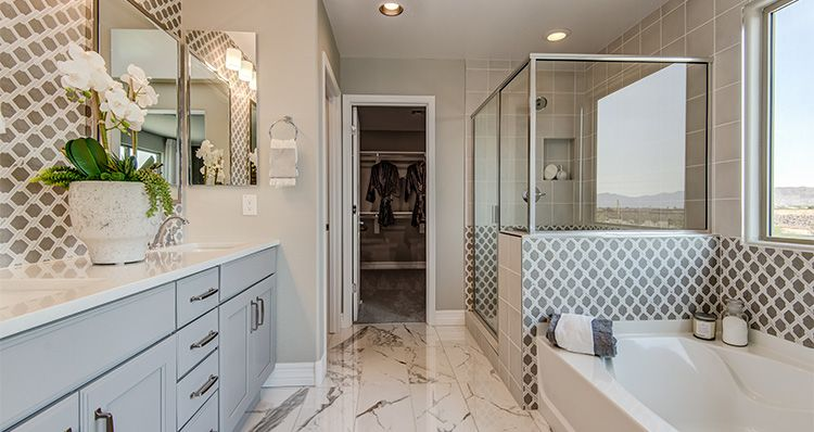 Bathroom featured in the Canyon By Woodside Homes in Phoenix-Mesa, AZ