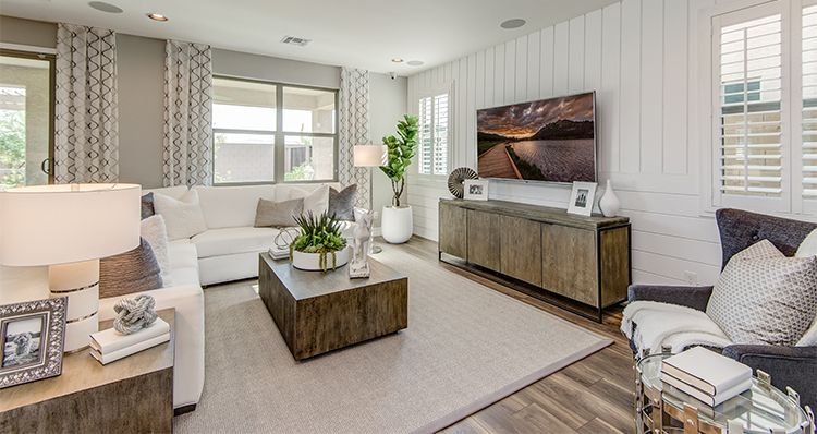Living Area featured in the Canyon By Woodside Homes in Phoenix-Mesa, AZ