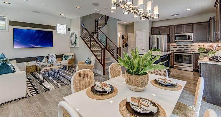 Living Area featured in the Hamlet By Woodside Homes in Phoenix-Mesa, AZ