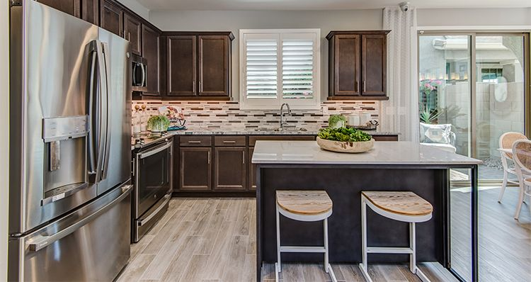 Kitchen featured in the Hamlet By Woodside Homes in Phoenix-Mesa, AZ