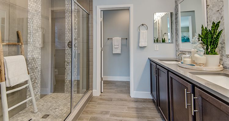 Bathroom featured in the Hamlet By Woodside Homes in Phoenix-Mesa, AZ