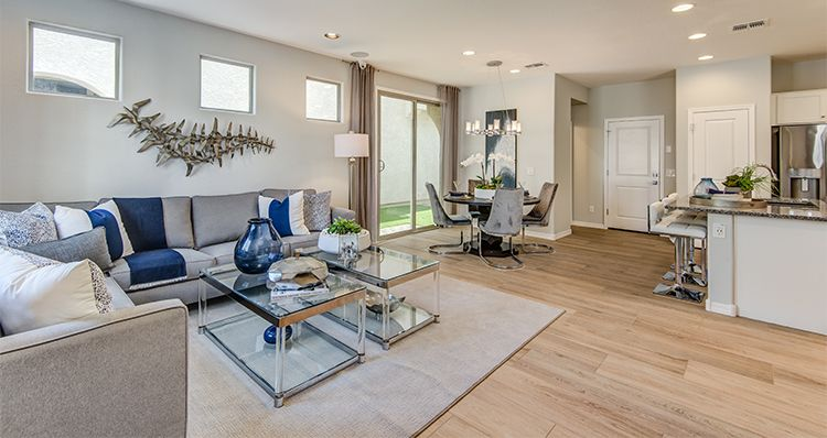 Living Area featured in the District By Woodside Homes in Phoenix-Mesa, AZ