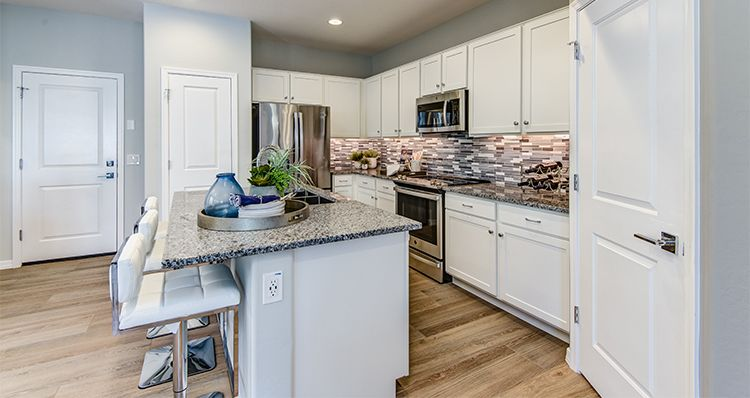 Kitchen featured in the District By Woodside Homes in Phoenix-Mesa, AZ