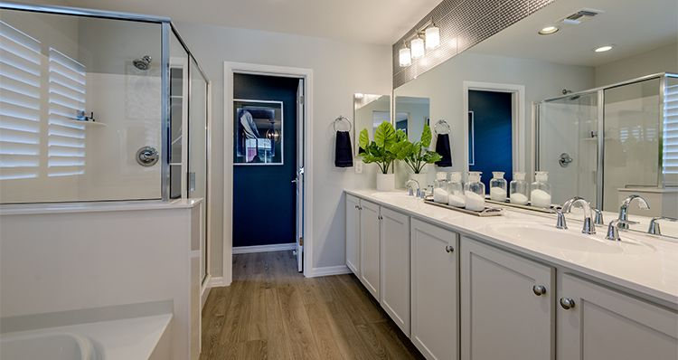Bathroom featured in the District By Woodside Homes in Phoenix-Mesa, AZ