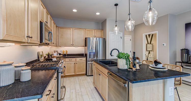 Kitchen featured in the Townlet (Loop) By Woodside Homes in Phoenix-Mesa, AZ