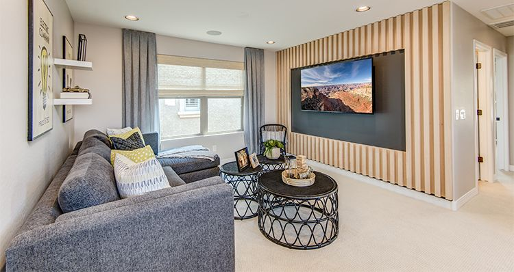 Living Area featured in the Townlet (Loop) By Woodside Homes in Phoenix-Mesa, AZ