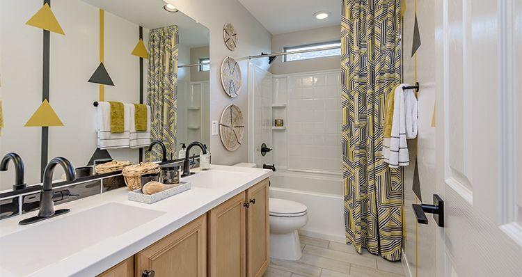 Bathroom featured in the Townlet (Loop) By Woodside Homes in Phoenix-Mesa, AZ