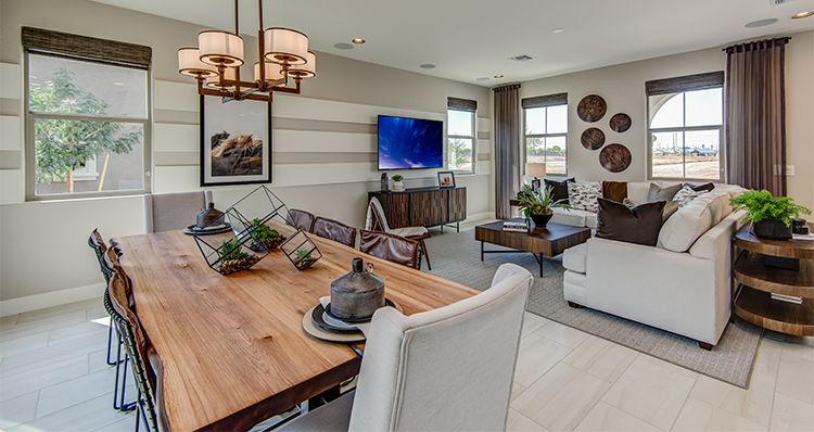 Living Area featured in the Haven By Woodside Homes in Phoenix-Mesa, AZ