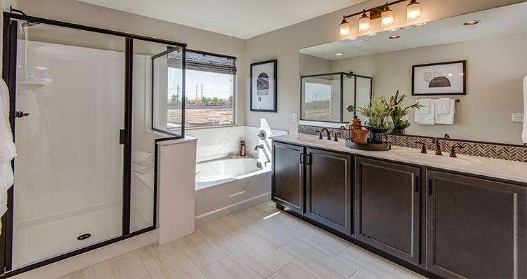 Bathroom featured in the Haven By Woodside Homes in Phoenix-Mesa, AZ