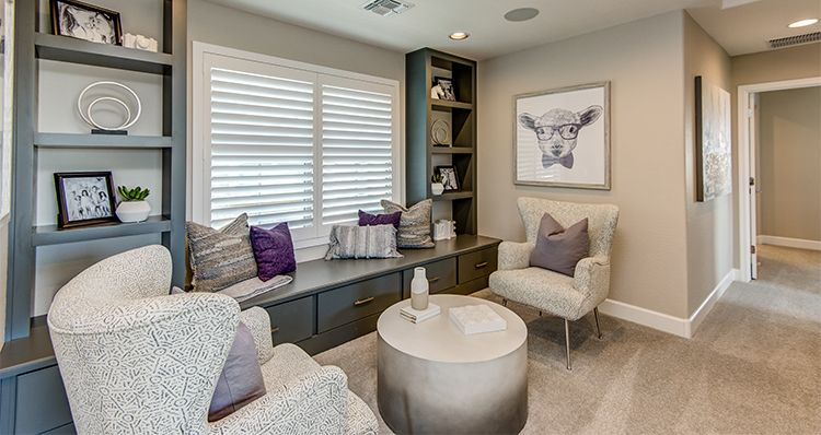 Living Area featured in the Region By Woodside Homes in Phoenix-Mesa, AZ