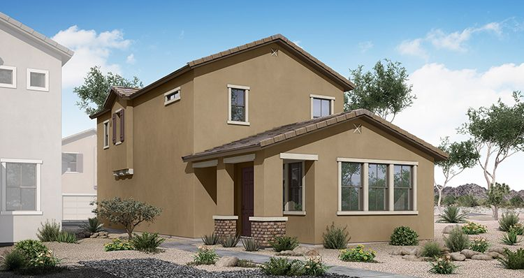 Exterior featured in the Colony By Woodside Homes in Phoenix-Mesa, AZ