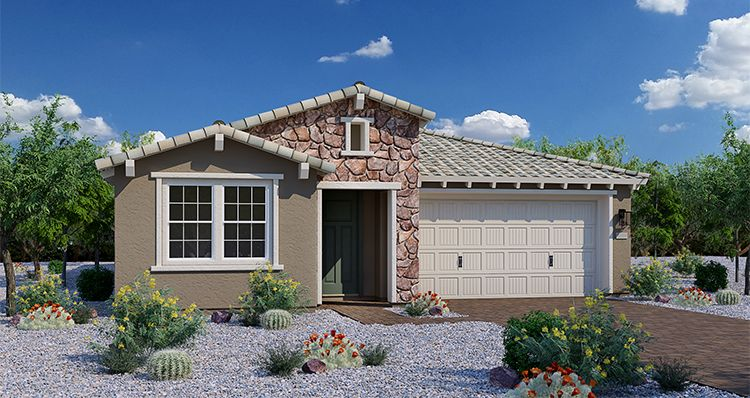 Exterior featured in the Fable By Woodside Homes in Phoenix-Mesa, AZ