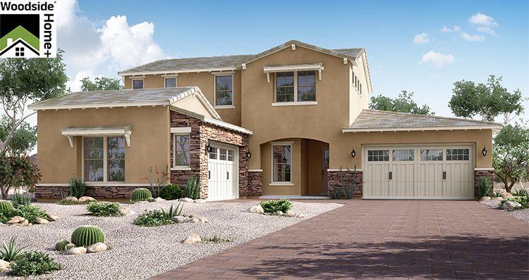 Exterior featured in the Grandeur By Woodside Homes in Phoenix-Mesa, AZ