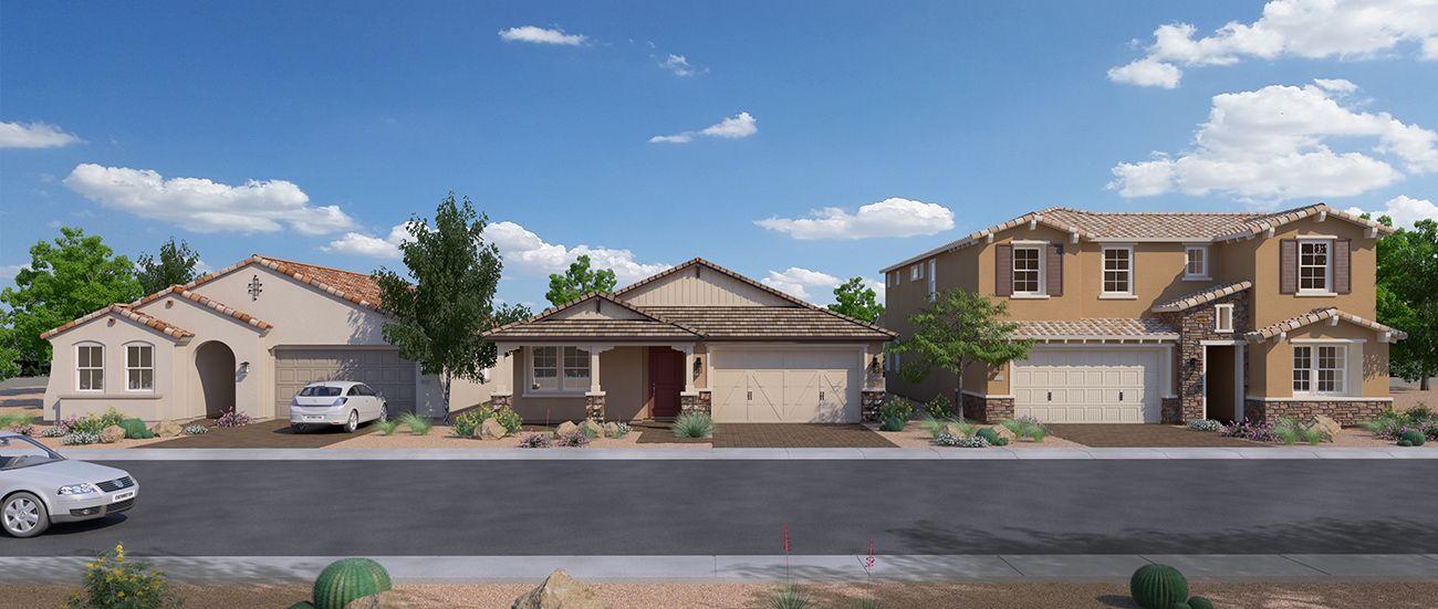 'Enchantment at Eastmark' by Woodside Homes - Phoenix in Phoenix-Mesa