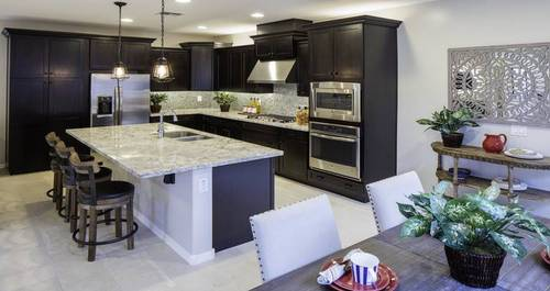 Kitchen-in-Residence IV-at-Bungalows at Cooley Station-in-Gilbert