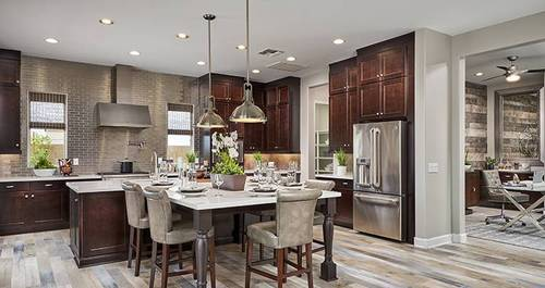 Kitchen-in-Rochester-at-Norland at Kensington-in-Gilbert