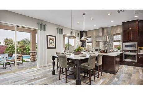 Kitchen-in-Rochester-at-Norland at Kensington Estates-in-Gilbert