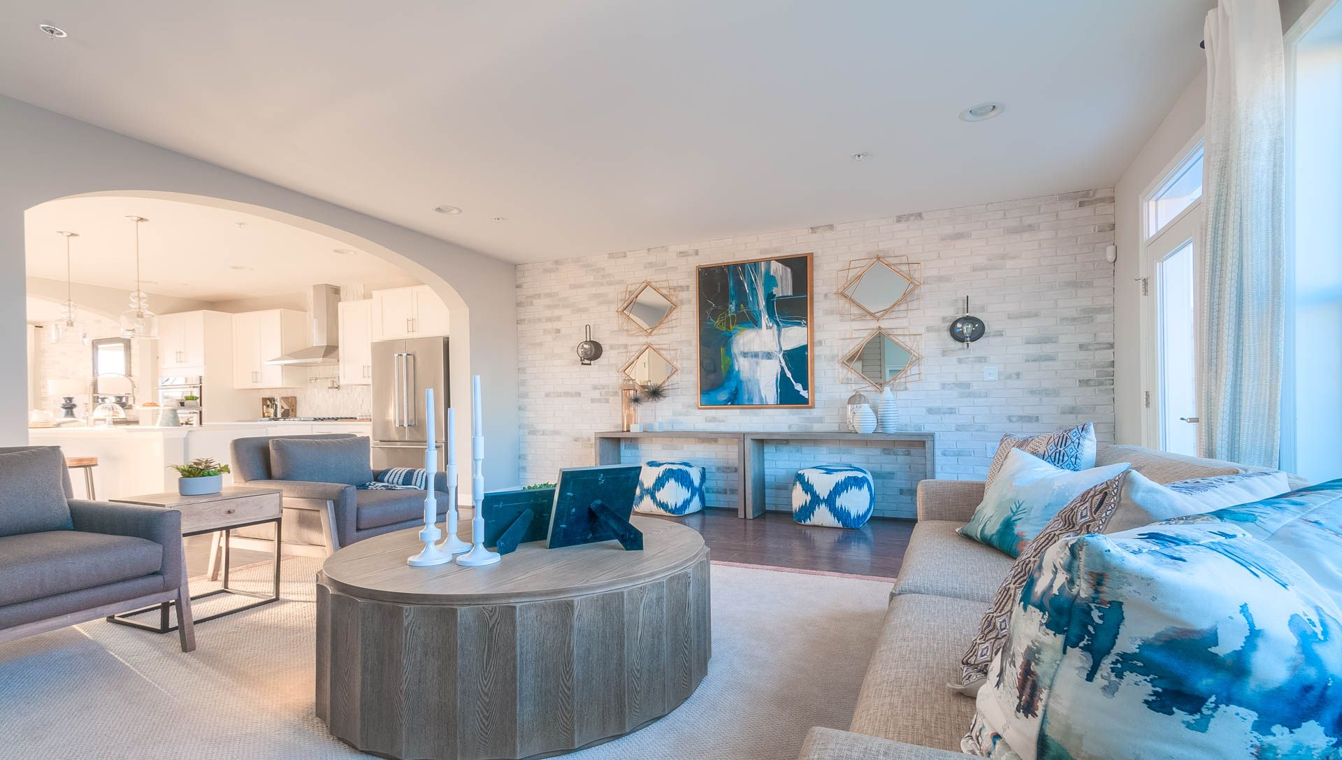 Living Area featured in The Vanderbilt By Wormald Homes in Washington, MD