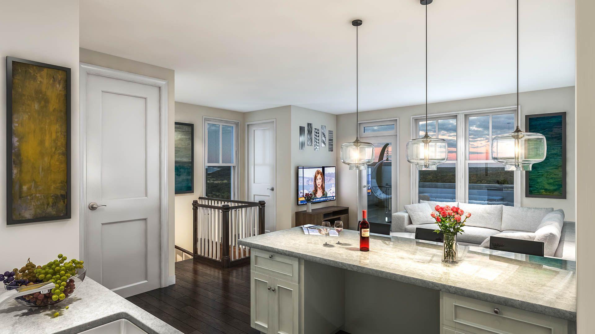Kitchen featured in The Vanderbilt By Wormald Homes in Washington, MD