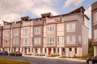 The Callahan - River Place Townhomes: Frederick, Maryland - Wormald Homes