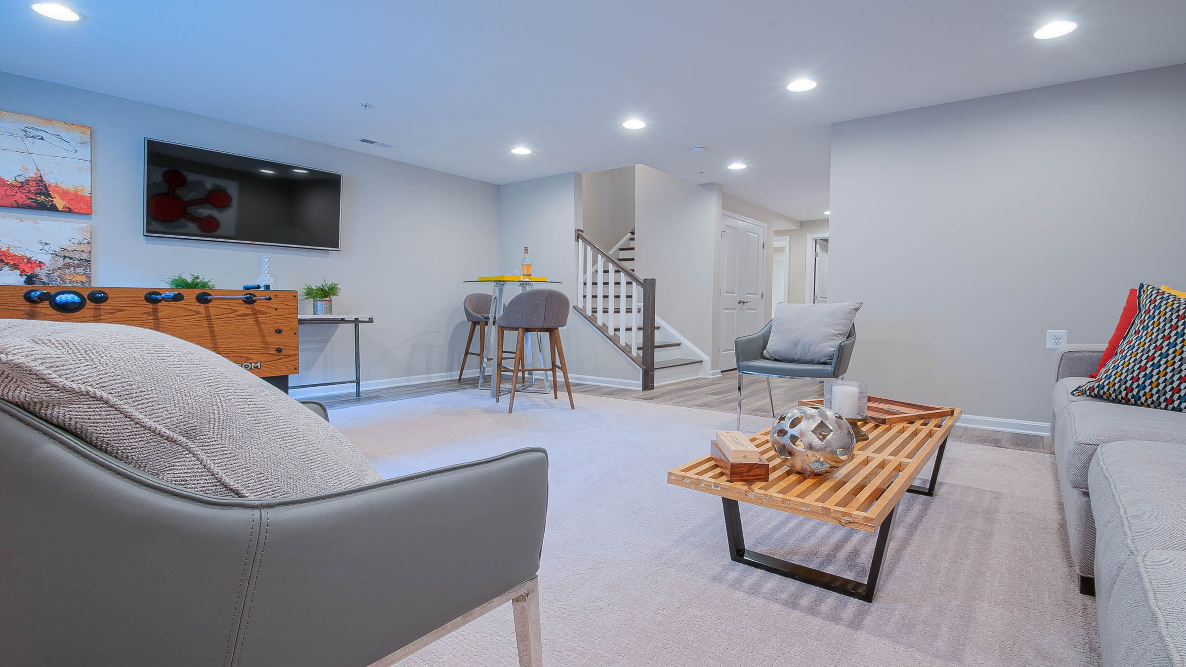 Living Area featured in The Ashcroft By Wormald Homes in Washington, MD