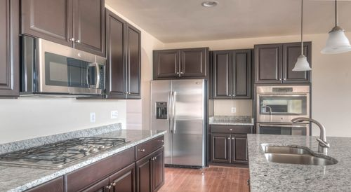 Kitchen-in-The Kendal-at-The Grand Manor Collection at Spring Hollow-in-Ijamsville