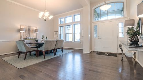 Dining-in-The Westminster-at-The Grand Manor Collection at Bennett Preserve-in-Clarksburg
