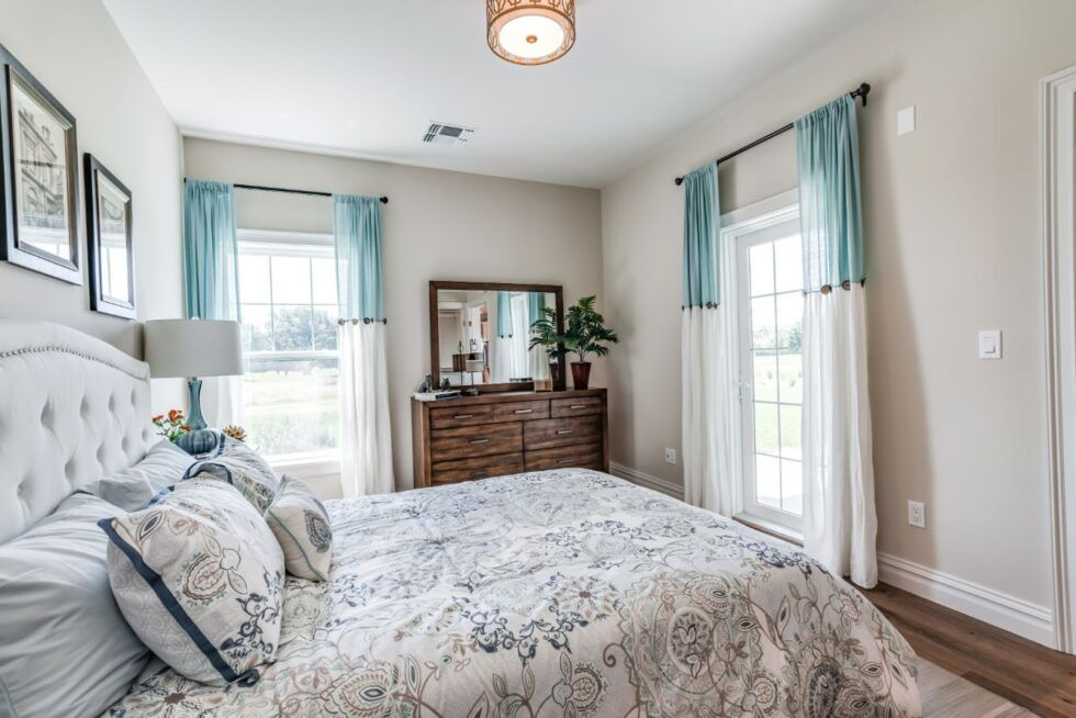 Bedroom featured in The Oakmont Town House Exterior By Benjamin Companies in Nassau-Suffolk, NY