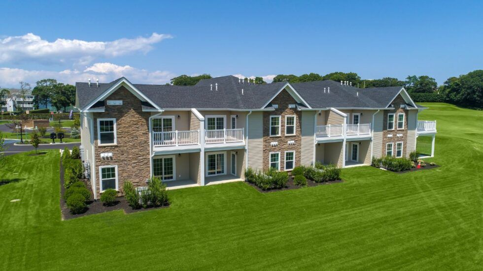 Exterior featured in The Augusta Town House Exterior By Benjamin Companies in Nassau-Suffolk, NY