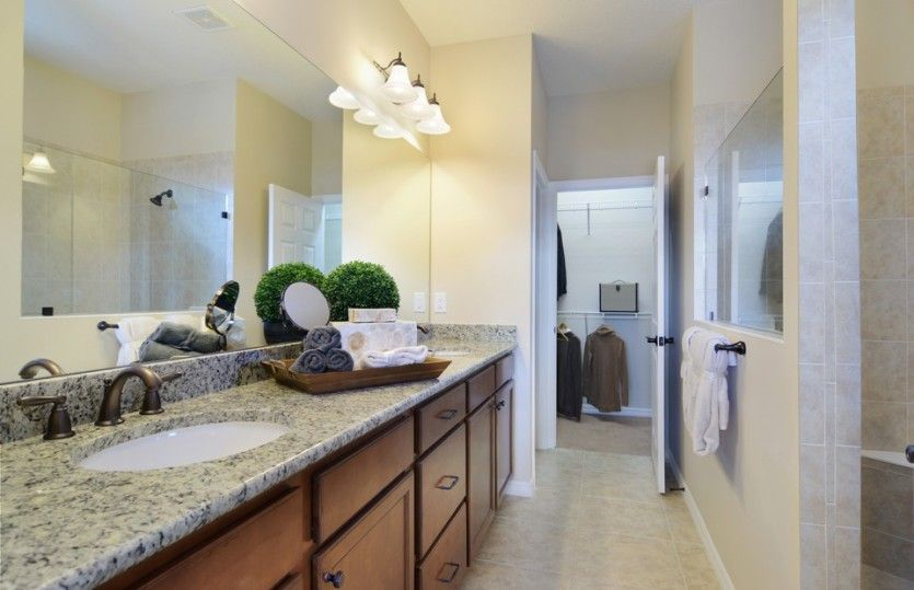 Bathroom featured in the Abbeyville By DiVosta Homes in Sarasota-Bradenton, FL