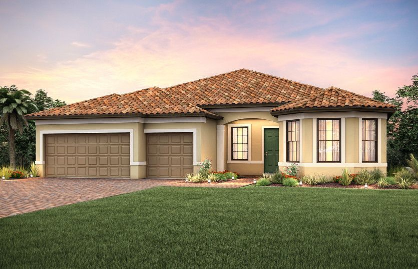 Exterior featured in the Pinnacle By DiVosta Homes in Sarasota-Bradenton, FL